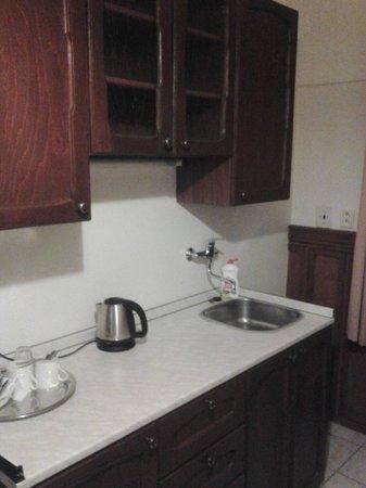 Hotel Waldstein : Kitchen