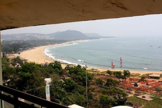 APTDC Haritha Beach Resort : from room veranda