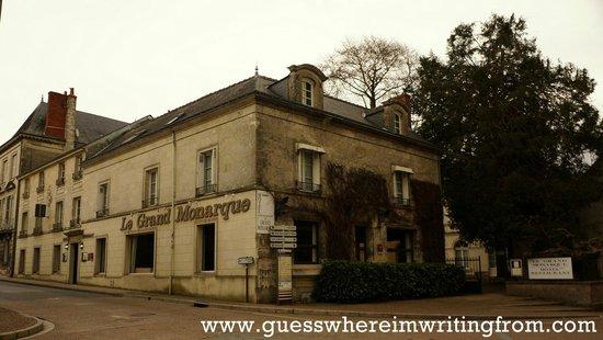 Le Grand Monarque: Charming hotel