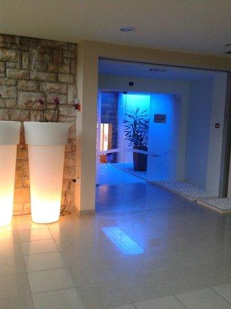 Bluesun Hotel Elaphusa: L'entrée du spa