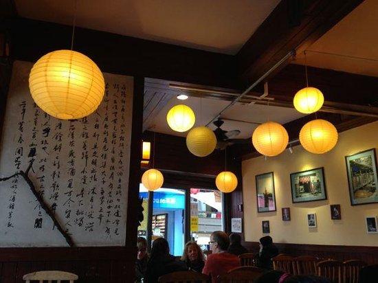 Cafe China : nice interior