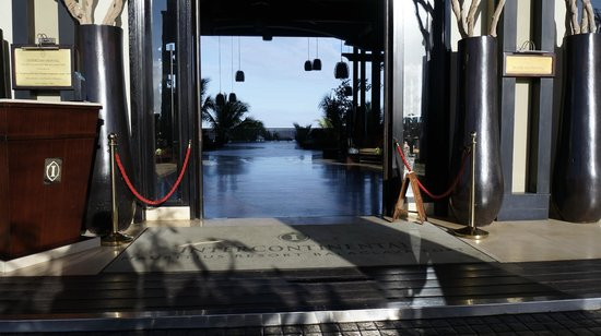 InterContinental Mauritius Resort Balaclava Fort: l'entrée