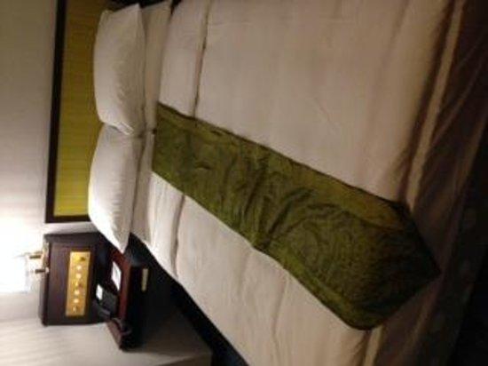Evergreen Hotel : 湿ったベッド