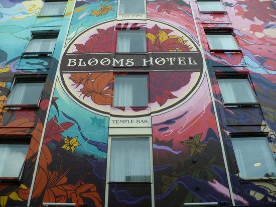 Blooms Hotel: La mia stanza in alto a destra.