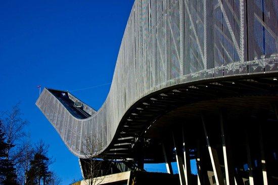 Musée du ski de Holmenkollbakken : Ski Jump