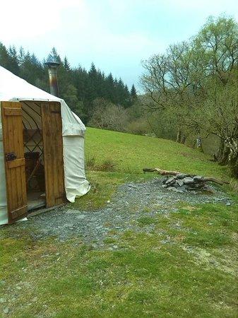 Eco Retreats: Our yurt