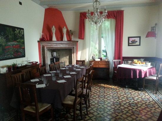 Villa Paradiso: sala colazione