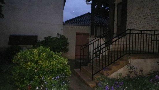 Hotel Delpeyrat: vue du jardin