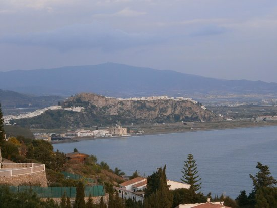 BEST WESTERN Hotel Salobrena : Vistas a Salobreña