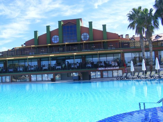 Alba Resort Hotel: bâtiment principal