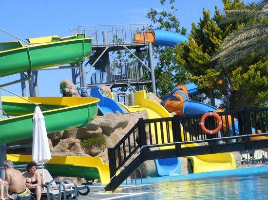 Alba Resort Hotel: tobogans de la piscine