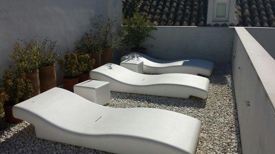Hotel Viento10: Sun terrace