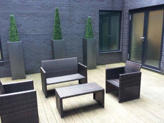 The Nadler Liverpool: The garden in the secret garden suite