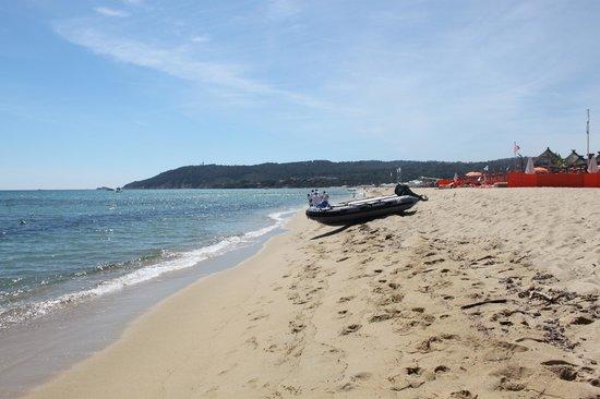 La Plage des Jumeaux: La spiaggia