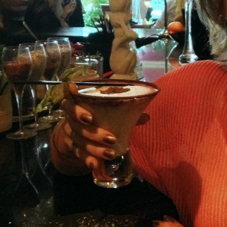 Rock and Rose Restaurant: White Chocolate Martini - Rock & Rose