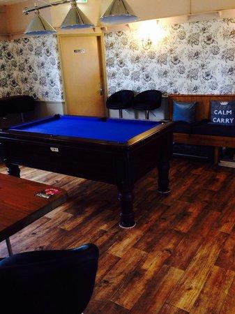 Eskdale Inn: Pool room