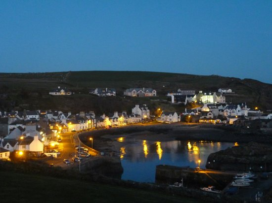 The Portpatrick Hotel : View from seating area