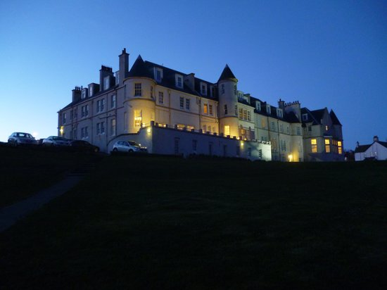 The Portpatrick Hotel : From steps on way back from village