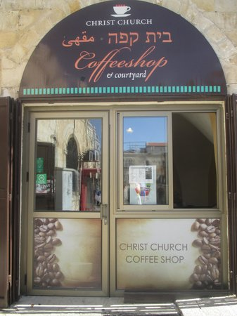 ‪Christ Church Cafe Jerusalem‬