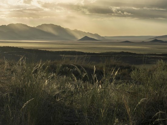 NamibRand Nature Reserve: A passing storm