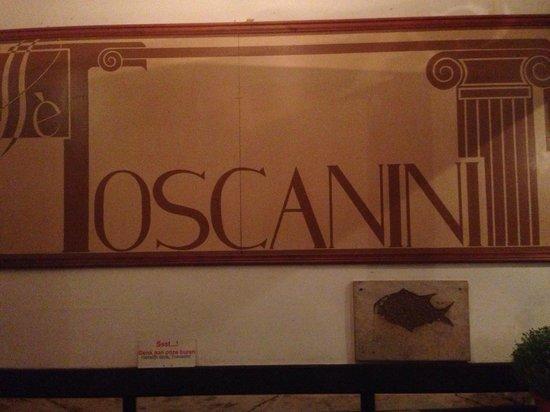 Toscanini: A entrada!
