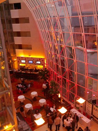 Ghent Marriott Hotel: hall