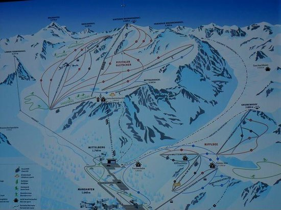 Active Hotel Alpen: mapa de las pistas
