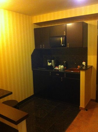 Ramada Hotel and Suites Bucharest North: Angolo cottura della camera