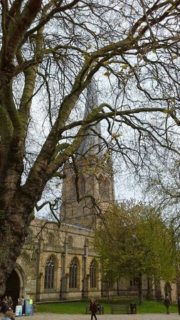 Chesterfield Parish Church/Crooked Spire: Crooked spire