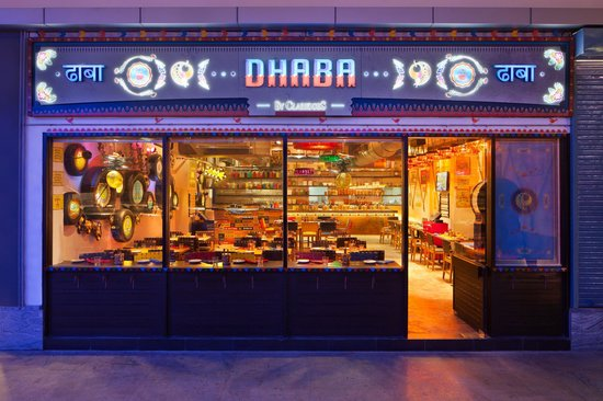 Dhaba by Claridges -  DLF Place Mall