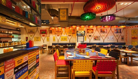 dhaba by claridges interior picture of dhaba new delhi