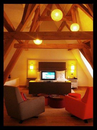 Ghent Marriott Hotel: Suite junior.