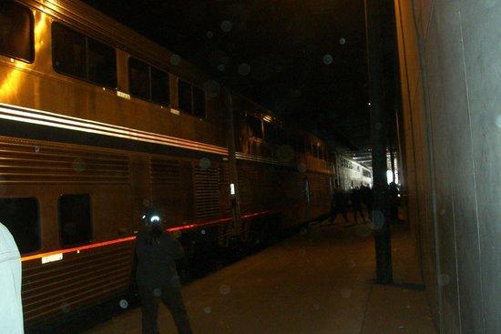 Amtrak Train Chicago Union Station