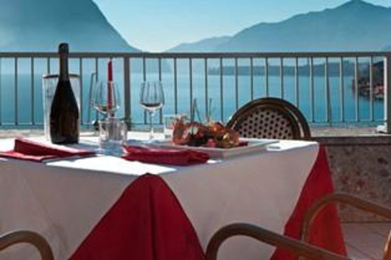 Hotel Lovere Resort & Spa: terrazza ristorante