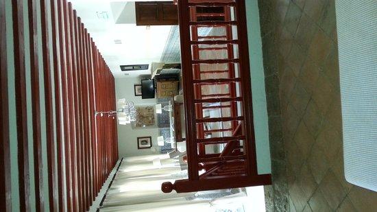 Parador de Almagro: Salón de la chimenea
