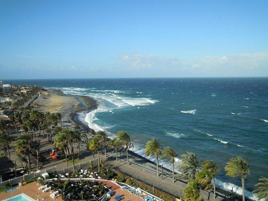 Sol Tenerife: Прямой вид на океан из номера (сильный ветер)