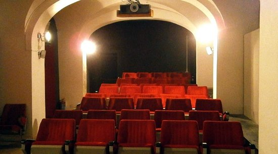 Detour : The cinema Hall: 60 comfortably seats, big screen, hq projection