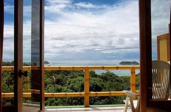 Bill Beard's Costa Rica : Beautiful view from room balcony at Manuel Antonio Beach, Costa Rica