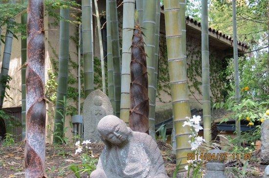 Hakusha Son-so Garden: 藪の羅漢