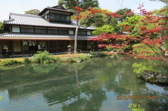 Hakusha Son-so Garden : 白沙村荘風景