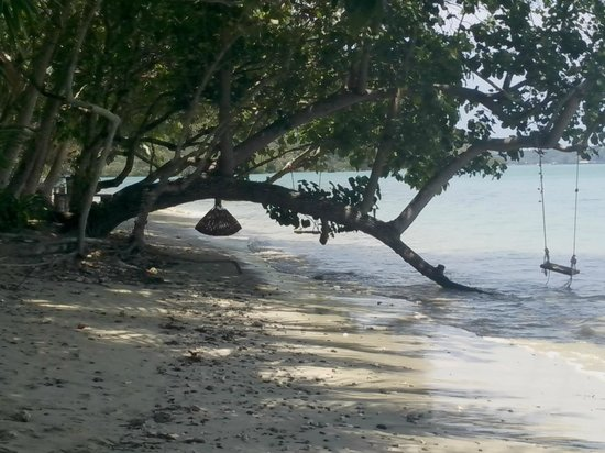 Baan Mai Cottages : beach