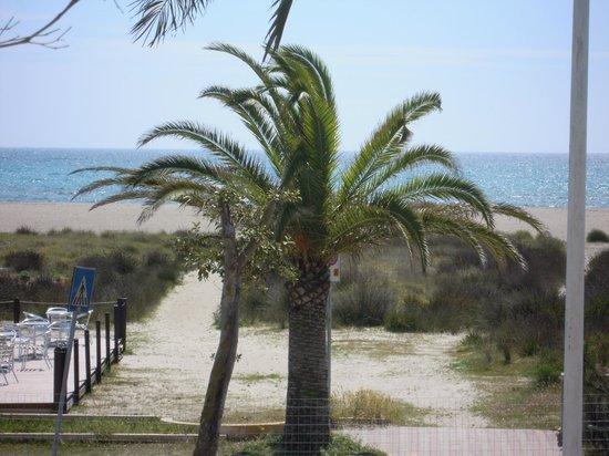 Garni Vento di Sabbia: Panorama dalla camera