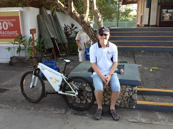 Ramada Bintang Bali Resort: Bicycle Hire