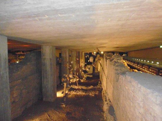 Praetorium: archäologische Fundstücke