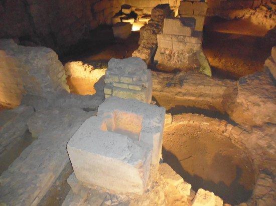 Überreste des Praetoriums