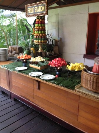 Ramada Bintang Bali Resort: Breakfast buffet
