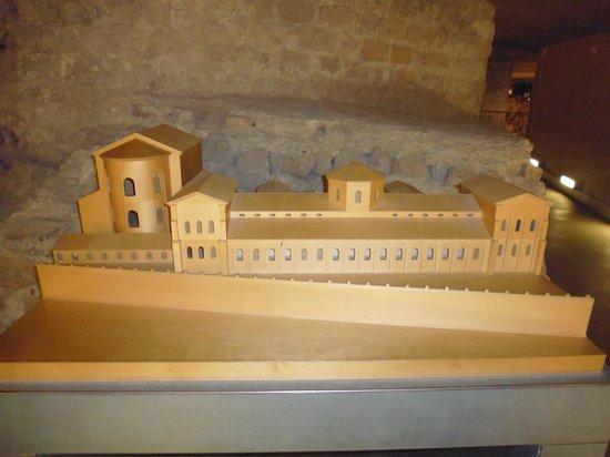 Modell des Praetoriums