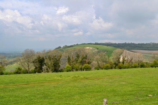 Devil's Dyke: nice view even better on a bright sunny day