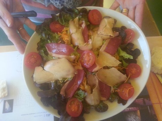 Carriere : La salade gourmand