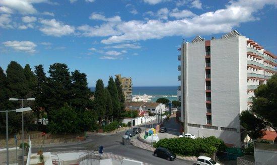 Hotel San Fermin: the view
